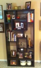 Bookshelf Laurel Hollow family room