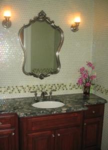 green glass bath 3